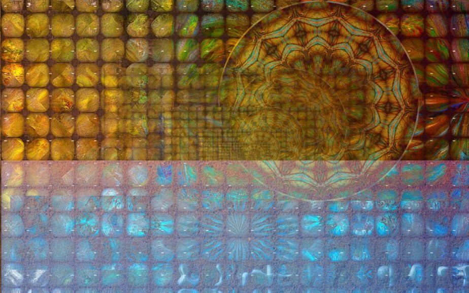 strange glass tile Symbols 4