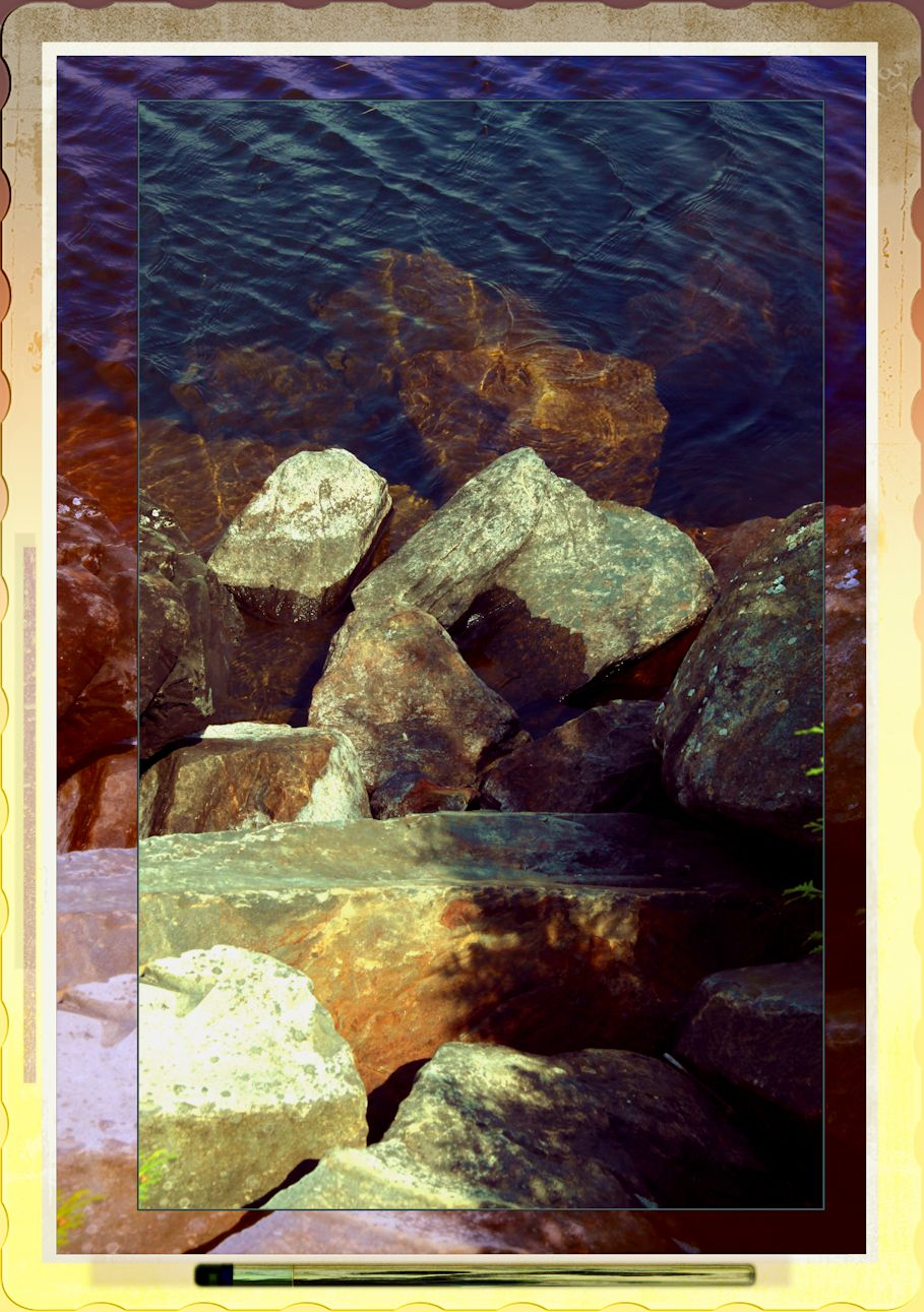Observed Encounter Between Water & Rock 3